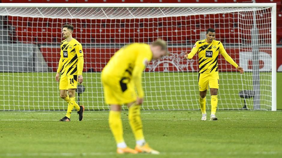 Hadern mit dem eigenen Spiel: Der BVB ging in Leverkusen wieder einmal enttäuscht vom Platz.