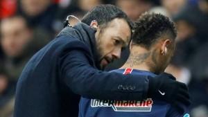 Verletzter Neymar muss unter Tränen vom Platz