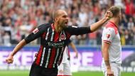 Direkt zugeschlagen: Bas Dost erzielt den Ausgleich gegen Düsseldorf.