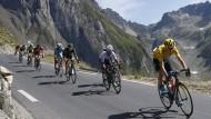 """Chris Froome in der Bergen: """"Nichts Außergewöhnliches"""""""