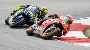 Rossi verliert die Nerven
