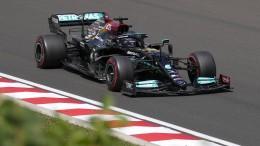 Hamilton vorne – Crash von Mick Schumacher