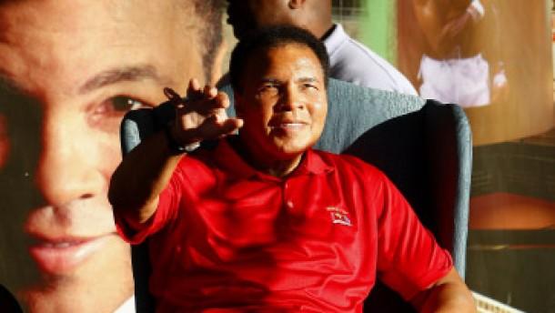 Mit dem Rücken zur Wand und Muhammad Ali als Inspiration