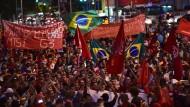Fußball-WM: Proteste in Brasilien