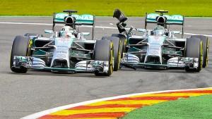 Freie Fahrt für Rosberg und Hamilton