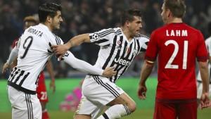 Die Bayern gestatten Juventus ein Comeback