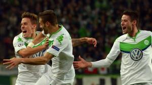 In Wolfsburg herrscht wieder gute Laune
