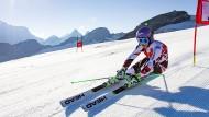 Anna Veith fährt wieder Ski: Fragt sich nur, ob es schon für Sölden reicht?