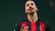 Zlatan Ibrahimovic ist wieder da und die italienischen Medien spielen verrückt.
