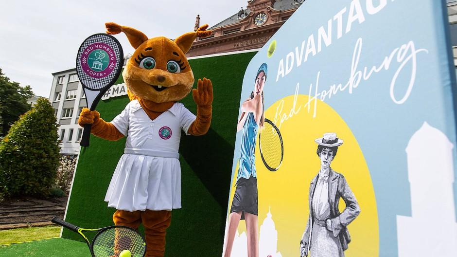 Ein bisschen wie Wimbledon: Rasentennis in Bad Homburg