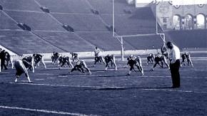 """""""Du musst so hart sein wie das Geschäft"""": Vor dem ersten Super Bowl, 1967 in Los Angeles gegen die Kansas City Chiefs"""