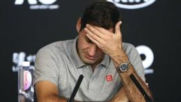 Tennis-Star Roger Federer fällt lange aus
