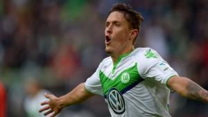 Wolfsburgs Kruse gelingt fast alles