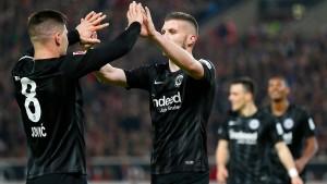 Galavorstellung der Frankfurter Eintracht