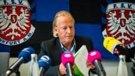 """""""Das war ein alternativloser Schritt"""": Präsident Michael Görner."""