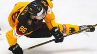 Ins Schlittern geraten: Deutschlands Eishockey-Team belegt Rang drei beim Deutschland Cup