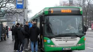 Tallinn setzt auf freie Fahrt im Nahverkehr
