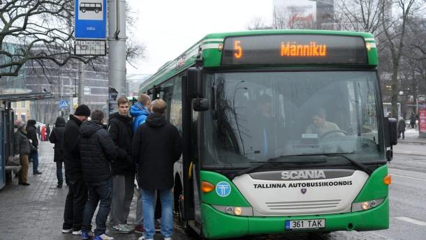 """""""Tallinn ist eine innovative Stadt"""": Die Fahrt im Nahverkehr gibt es gratis"""