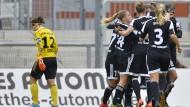 Sieg zum Trainerdebüt: Der FFC Frankfurt gewinnt gegen den SC Sand