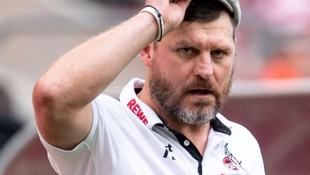 Köln-Trainer Baumgart redet sich in Rage