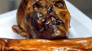 Neue Theorie: Ötzi erschlagen