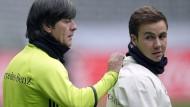Warum Löw weiter auf Götze und Müller setzt