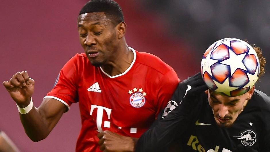 Augen zu und durch: Das Spiel gegen Salzburg war nicht immer hohe Fußballkost.