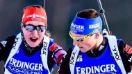 Gemeinsam stark: Luise Kummer (links) und Erik Lesser
