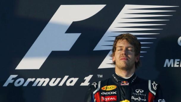 Vettel eine Klasse für sich