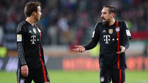 FC Bayern verzichtet auf Götze und Ribéry