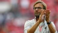 Jürgen Klopp rechnet sich mit dem FC Liverpool einiges aus.