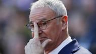 """""""Es schien heute so, als wäre ganz Leicester mit nach Sunderland gekommen"""": Claudio Ranieri."""