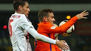 Kaum noch Hoffnung für die Niederlande