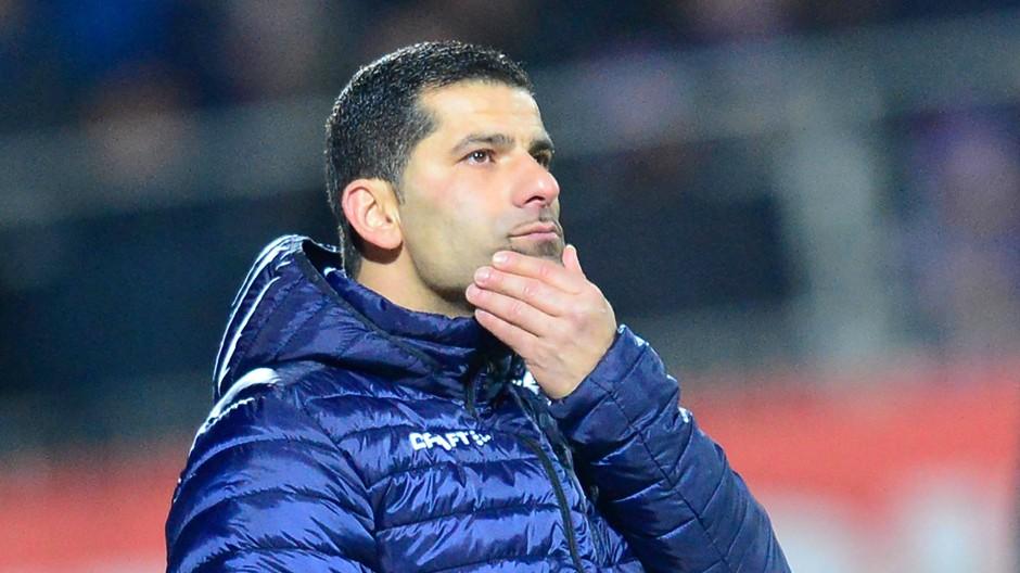 Trainer Dimitrios Grammozis: Die Vertragsverlängerung soll noch diesen Monat erfolgen.