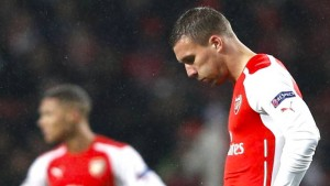 Einfach schwach: Podolski in der Kritik