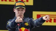 Achtung vor dem Achten: Daniil Kwjat hilft der Vettel-Faktor auf dem Karriereweg.