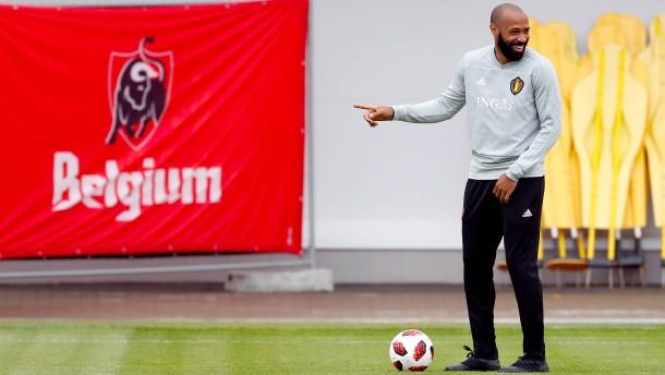 Thierry Henry will die Franzosen ärgern