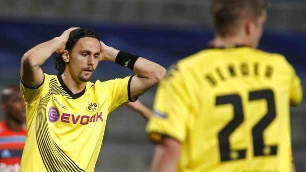 Dortmund zahlt in Marseille Lehrgeld