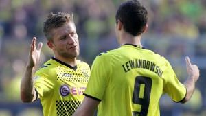 Bayern torlos - Dortmund torreich