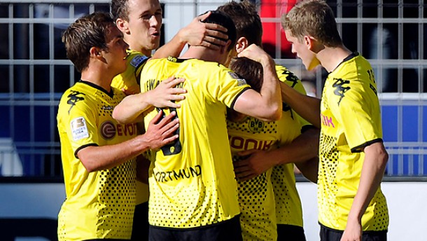 Vier Tore gegen den Dortmunder Frust