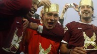 Finanzkrise trifft Fußballmillionäre, Champions League an der Wolga