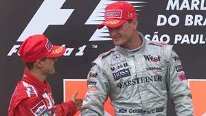 Comeback der Silberpfeile - Coulthard schlägt Schumacher