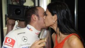 Kopie von Formula 1 Brazil - Scherzinger and Hamilton