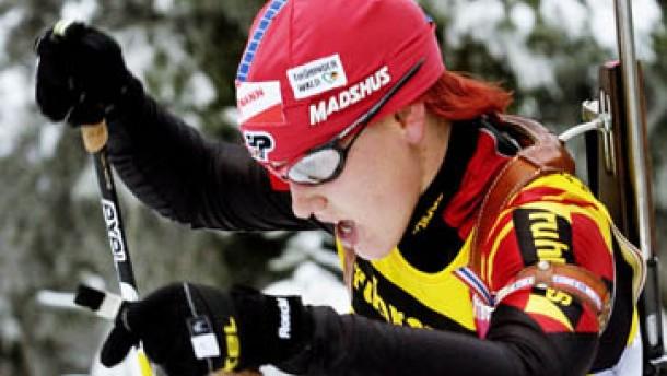 Deutsche Frauen und Ole Einar Björndalen dominierten