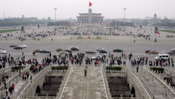 Tiananmen für Journalisten wieder frei zugänglich