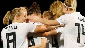 Beeindruckender Sieg der deutschen Fußballfrauen