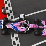 Abermals Fahrerwechsel: Der Rennwagen von Racing Point wird nun wieder von Perez gelenkt.