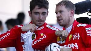 Fehler von Vettel – Mercedes sichert WM-Titel