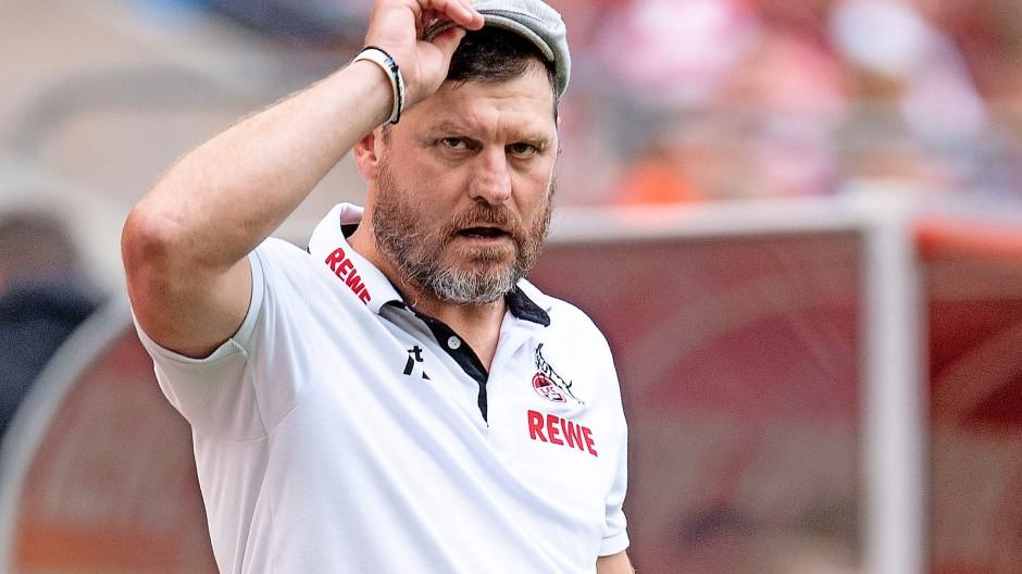Nicht nur eine Persönlichkeit, sondern auch meinungsstarker Fachmann: Kölns Trainer Steffen Baumgart
