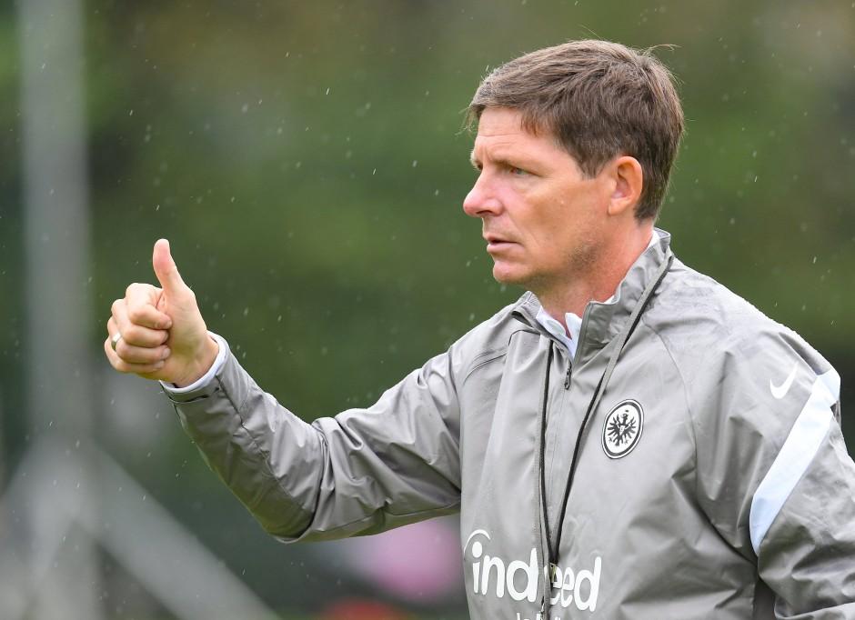 """""""Ich weiß, wie Wolfsburg spielt."""" Oliver Glasner wird am Sonntag wieder am Spielfeldrand stehen."""